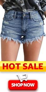 women shorts summer casual denim shorts jean shorts for women short cut off youth distressed shorts