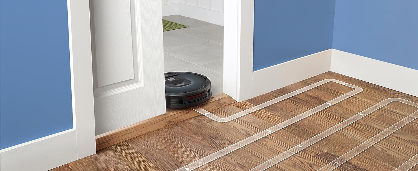 iRobot Roomba 981 maakt moeiteloos een hele verdieping schoon