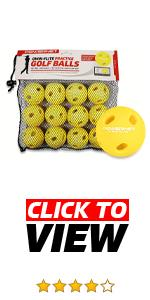The Yellow Micro Crushers are great for baseball, softball and golf training.