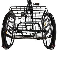 3 Wheel Bike with Basket