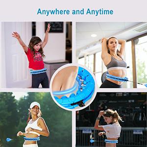fit hoop weighted hula hoops