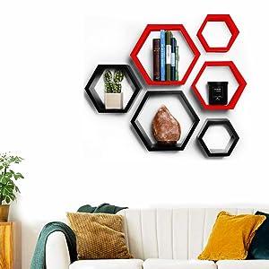 wall shelves for living room stylish