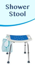 Shower Stool with free shower bag