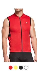 Sleeveless Cycling Jersey