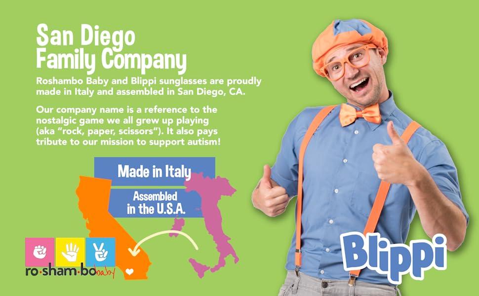 Roshambo Baby amp; Blippi - San Diego Family Company