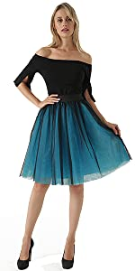 tulle tutu skirts for homecoming