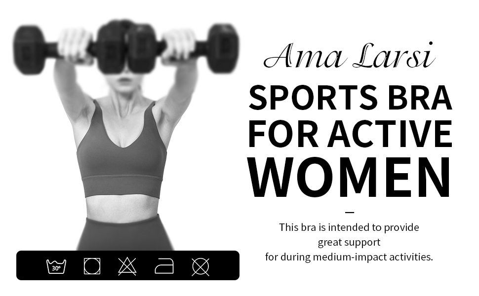 SPORTS BRA FOR ACTIVE WOMEN