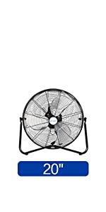 High Velocity Fan