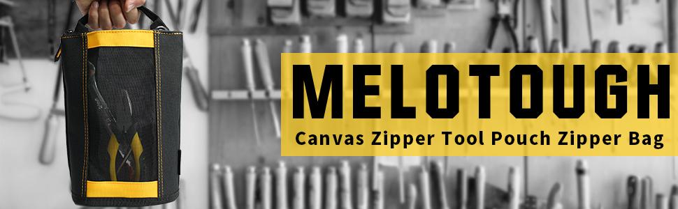 Canvas Zipper Tool Pouch