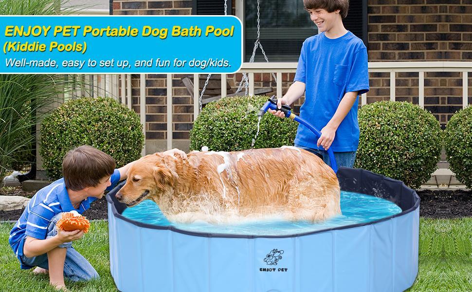 ENJOY PET DOG BATH POOL