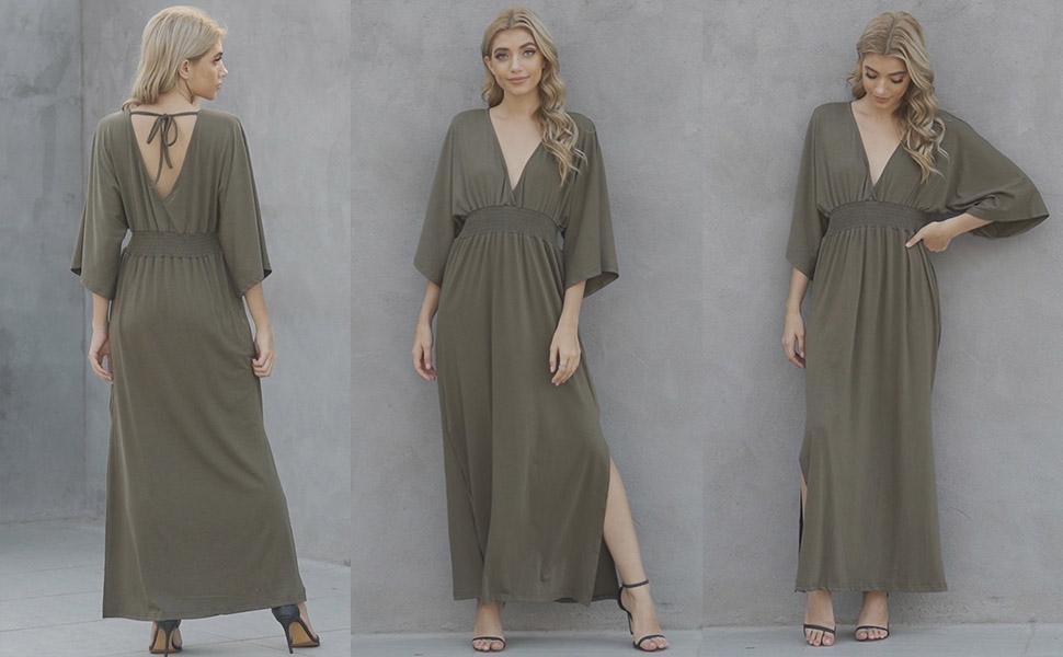 Women Summer Maxi Dress