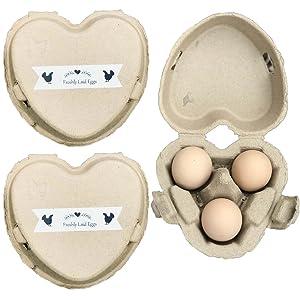 3 Egg cartons