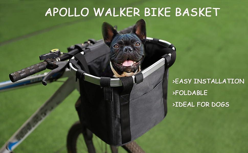 APOLLO WALKER BIKE BASKET FOR DOGS