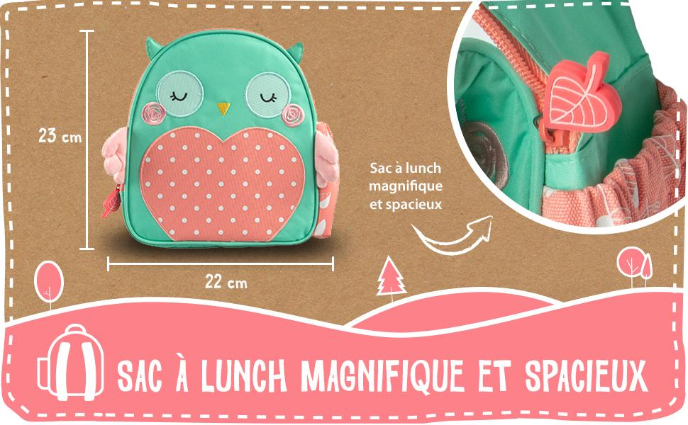planet buddies, lunch bag, intro banner, spacious