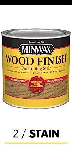 2 / Stain Minwax Wood Finish