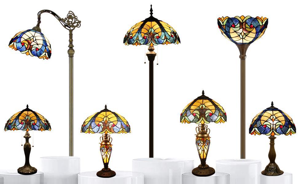 Happy Party S160E Series Yellow  LiaisonTiffany Lamp