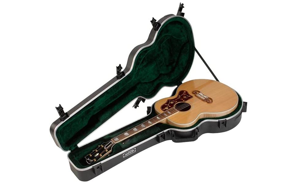 Universal Jumbo Acoustic Deluxe Guitar Case