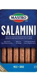 Single package of Mastro Salamini Mild Flavour
