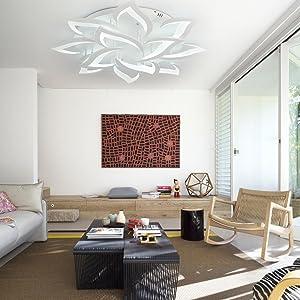 Flush Mount Ceiling Lamp Living Room Chandelier