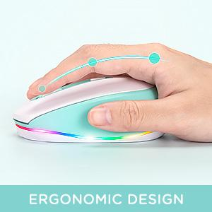 comfortable wireless mouse