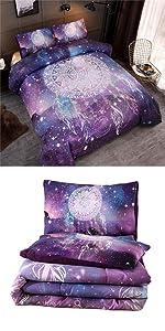 galaxy dreamcatcher comforter