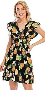 Smocked Waist Short Summer Dress