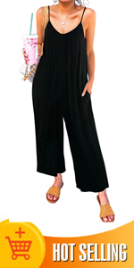 Romper Jumpsuit with Pockets