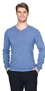 State Fusio Men's Basic V-Neck Sweater