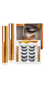 Magnetic Eyelashes Kit 10 Pairs