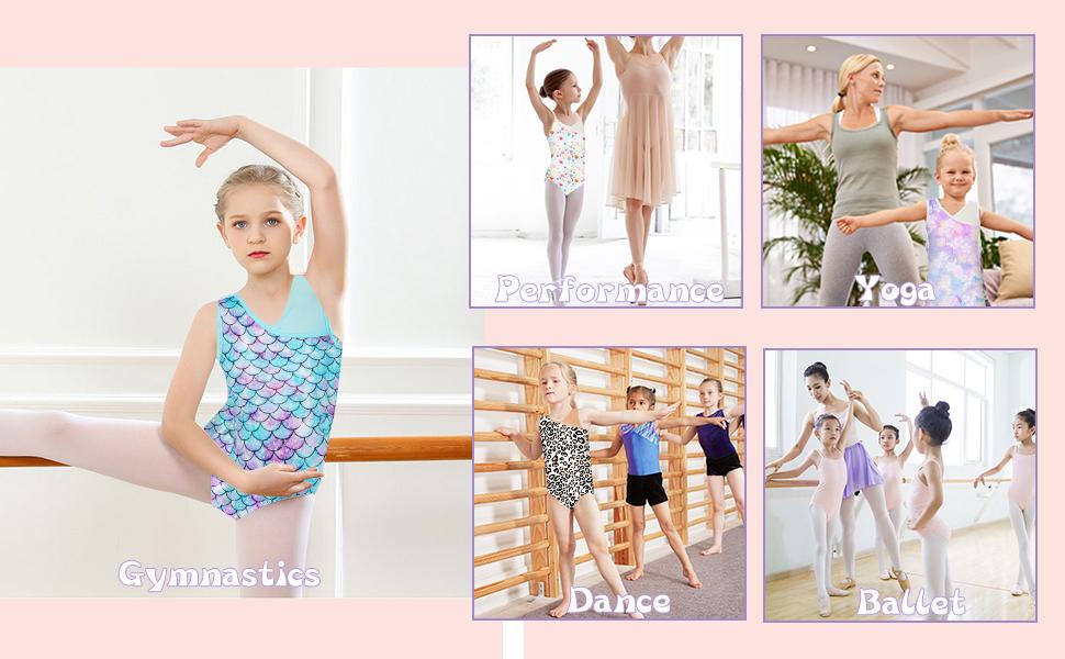Leotard for Gymnastics Performance Dance Ballet