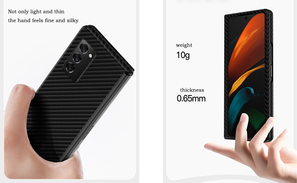 carbon fiber case supports wireless charging and will not interfere with WIFI