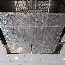 5' x 5' Self Bungee Leak Diverter