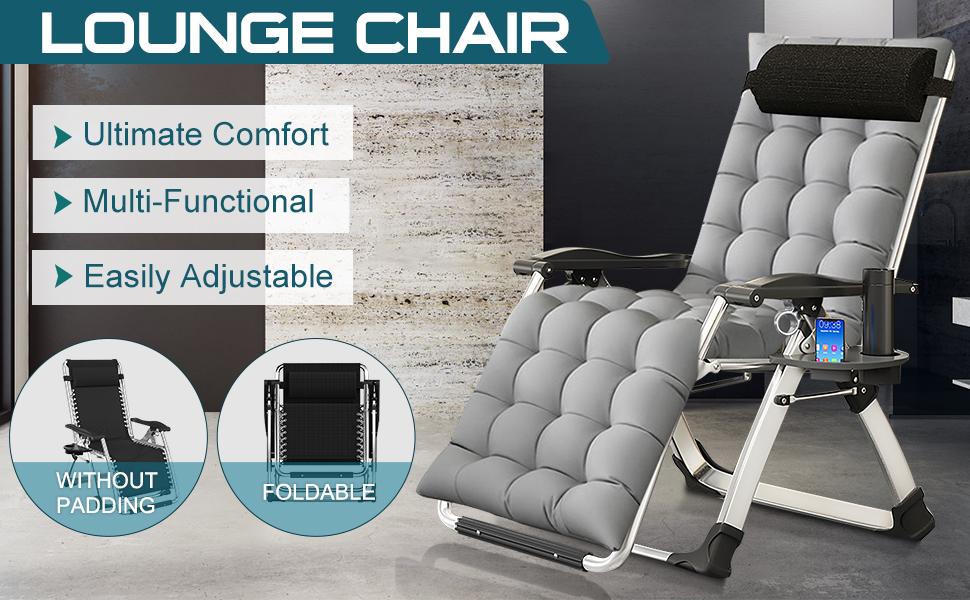 Barbella Patio Zero Gravity Chair