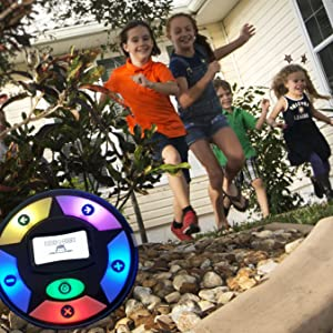Kids outdoors play toy - An active game of hide and seek