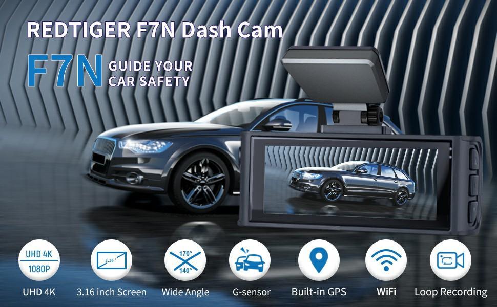 REDTIGER F7N DUAL DASH CAM
