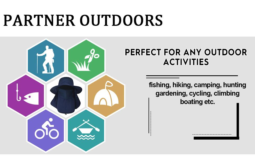perfect for any outdoor activities