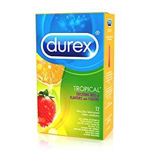 Durex, product, Tropical Flavor