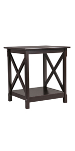 x designed end table