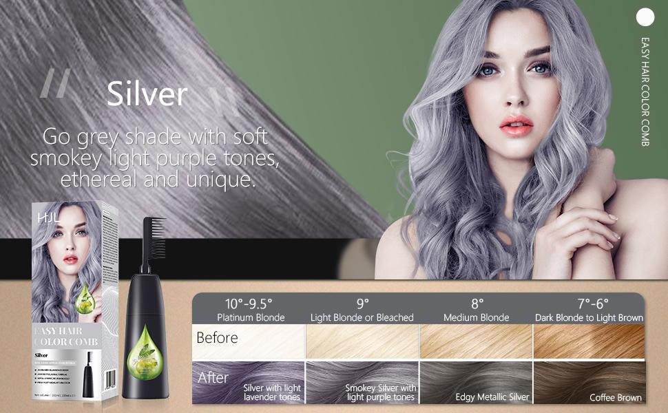 HJL Hair Joy Love silver hair dye