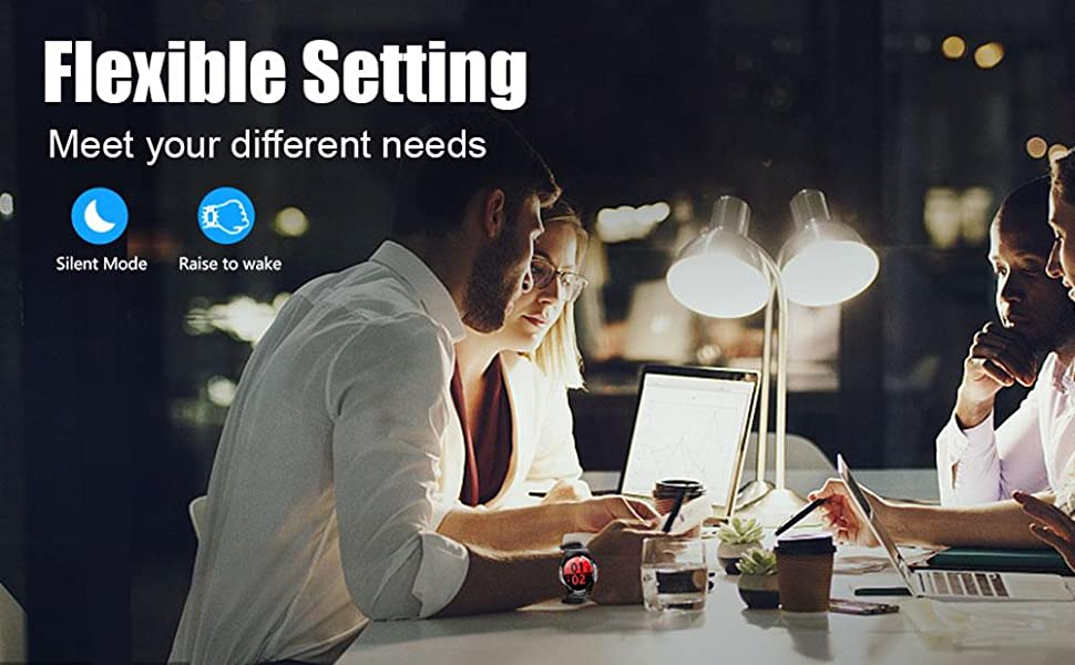 flexible setting meet your different needs