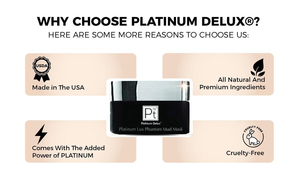 Platinum Lux's Phantom Mud Mask