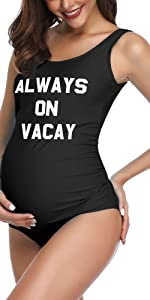 letter maternity one piece