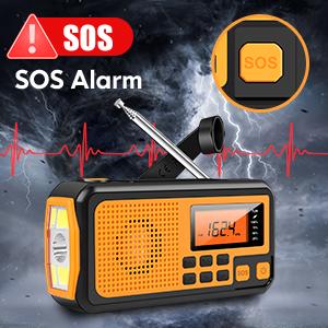 SOS Alarm Weather Radio