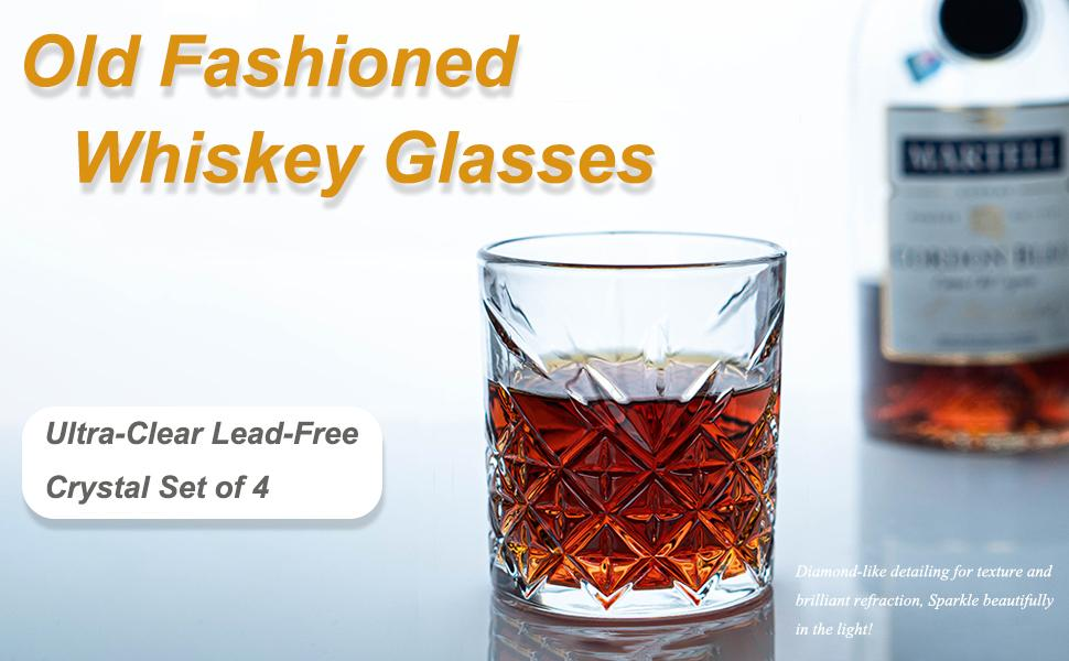 Old Fashioned Glass crystal glass