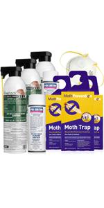 Clothes Moth Kit - Large Infestation