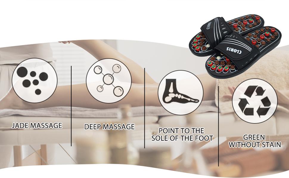 Acupressure Foot Massager,Massage Slippers,Acupressure Massage Slippers