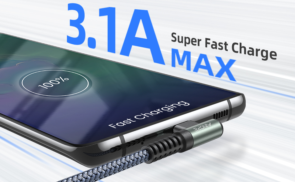 90 degree right angle usb c cable