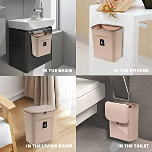 recycling bins for kitchen