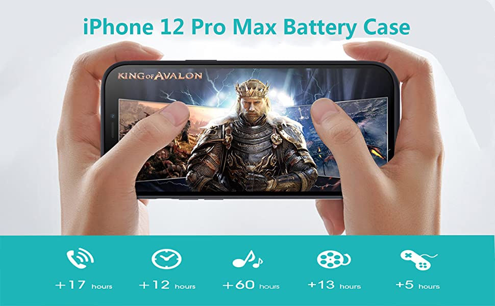 iphone 12 pro max battery case