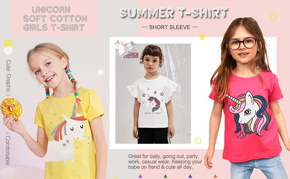 Unicorn Girls T-Shirt